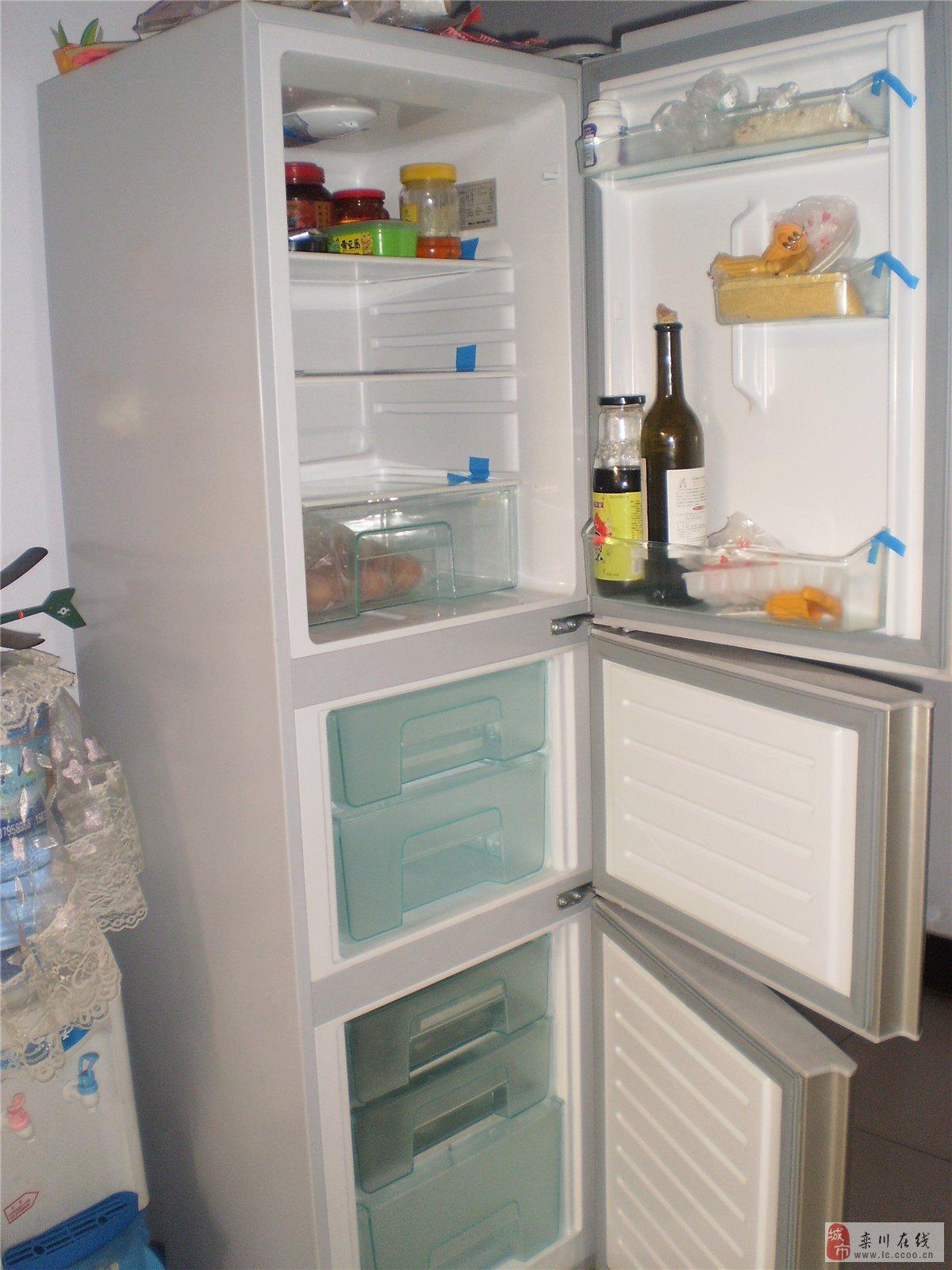 海尔3开门冰箱