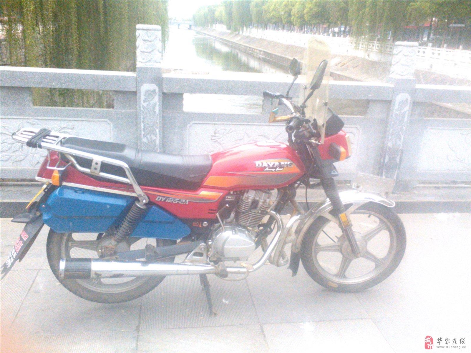 二手大阳125摩托车
