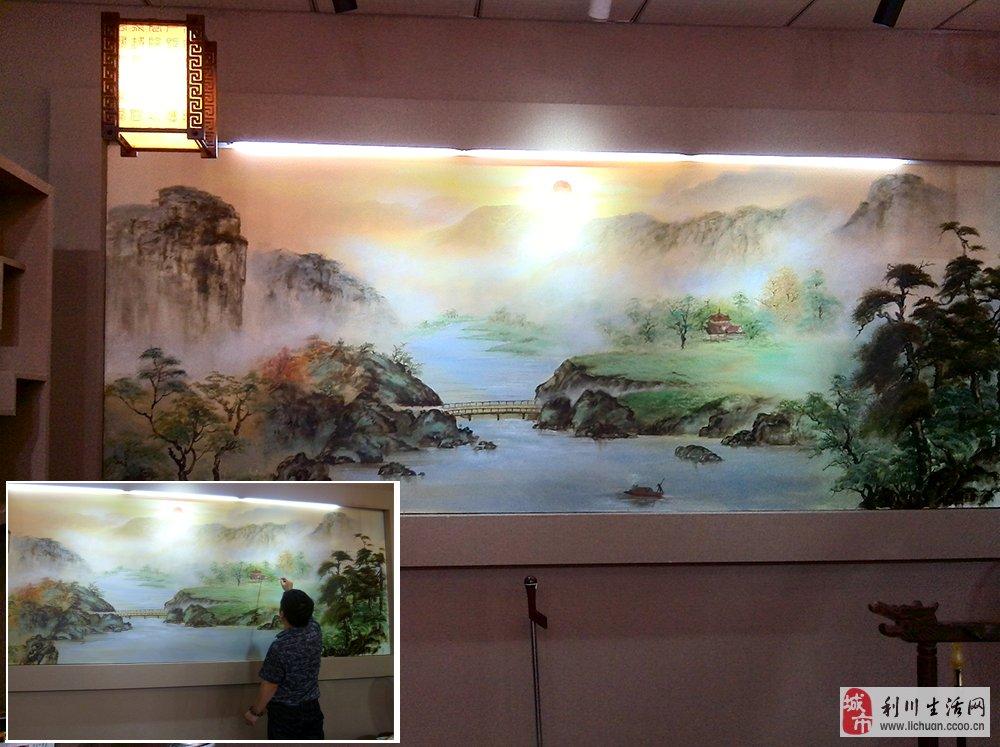 时尚家居手绘墙画 (电视背景墙,沙发背景墙,卧室,儿童房间墙画,餐厅