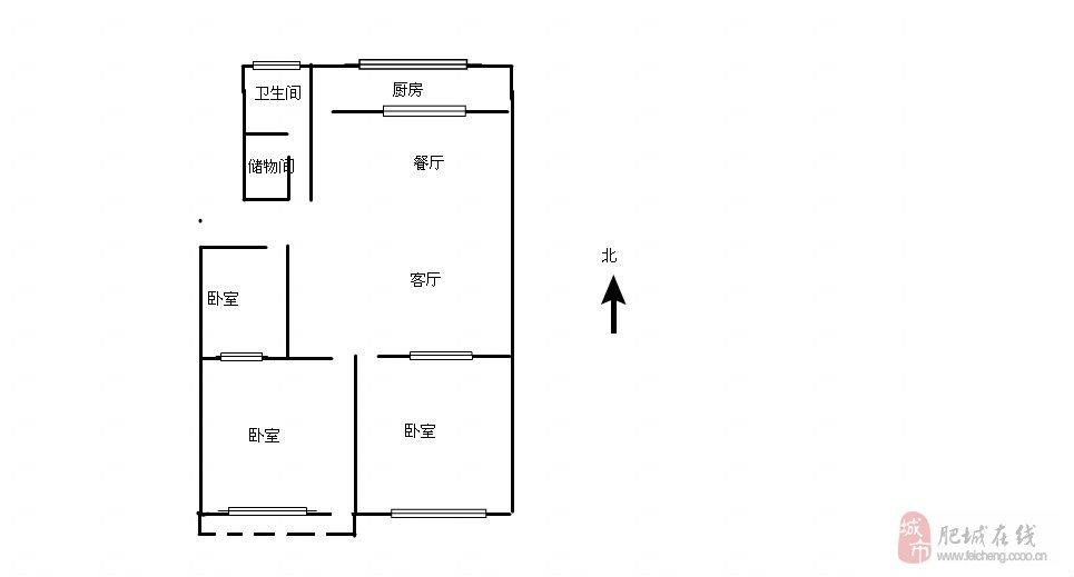 有12平米储藏室,三室两厅,小区环境良好,健身设施齐全,自建花园,一流