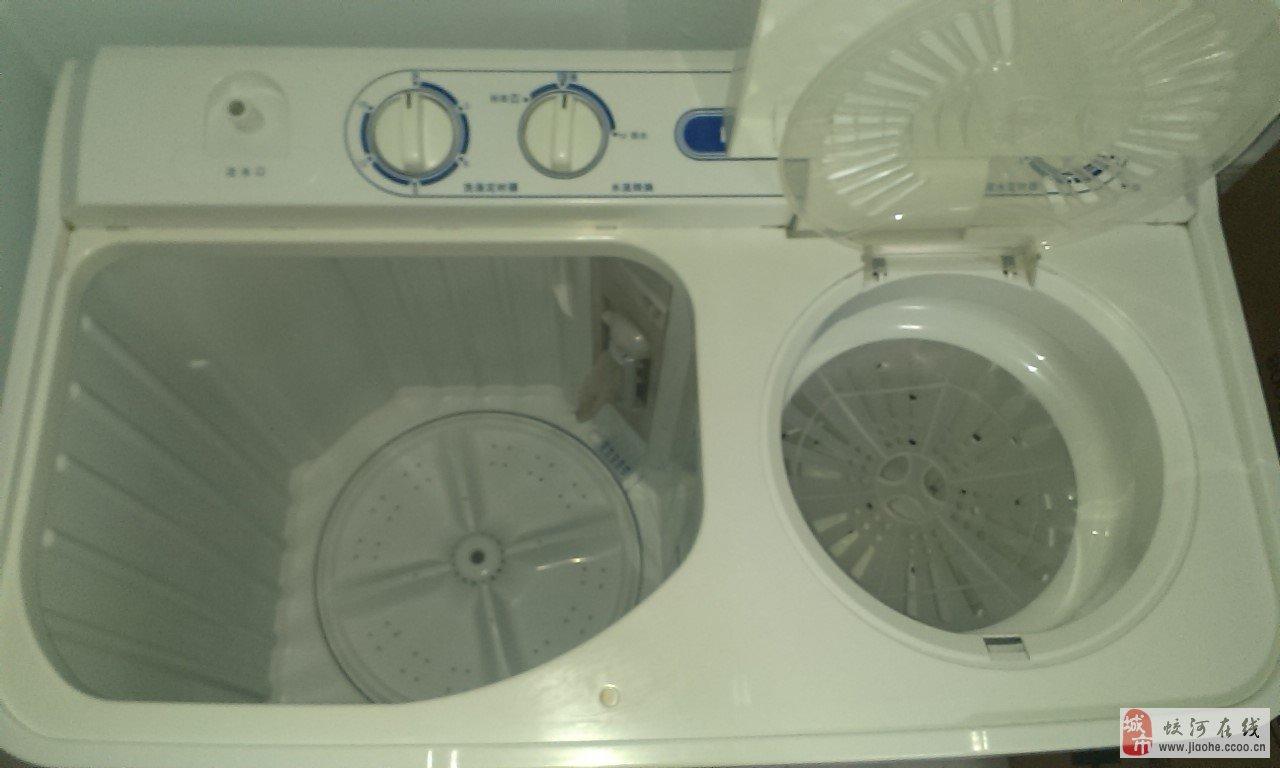 出售95成新海尔双桶洗衣机一台
