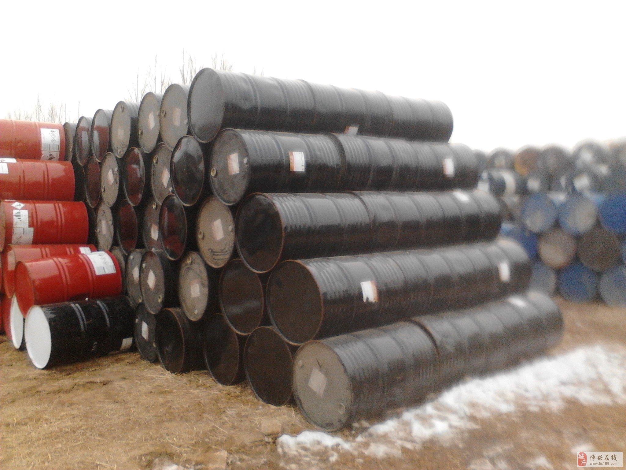 高价回收各种废旧铁桶