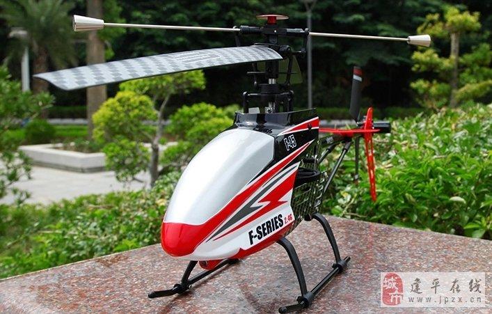 美嘉欣f45超大充电单桨四通遥控飞机直升飞机专业航