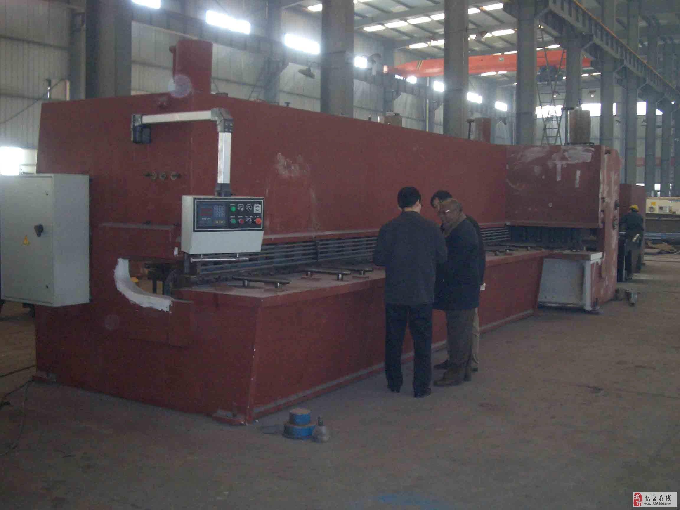 江苏二手剪板机回收 江苏液压机回收图片