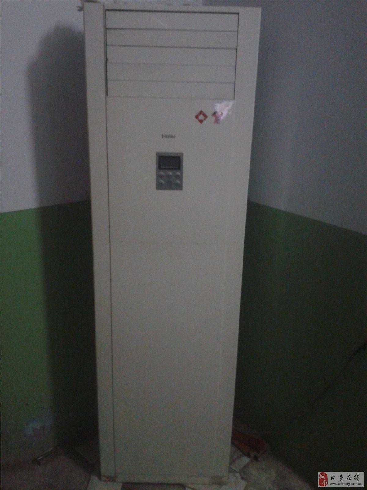 九成新海尔立式空调低价出售