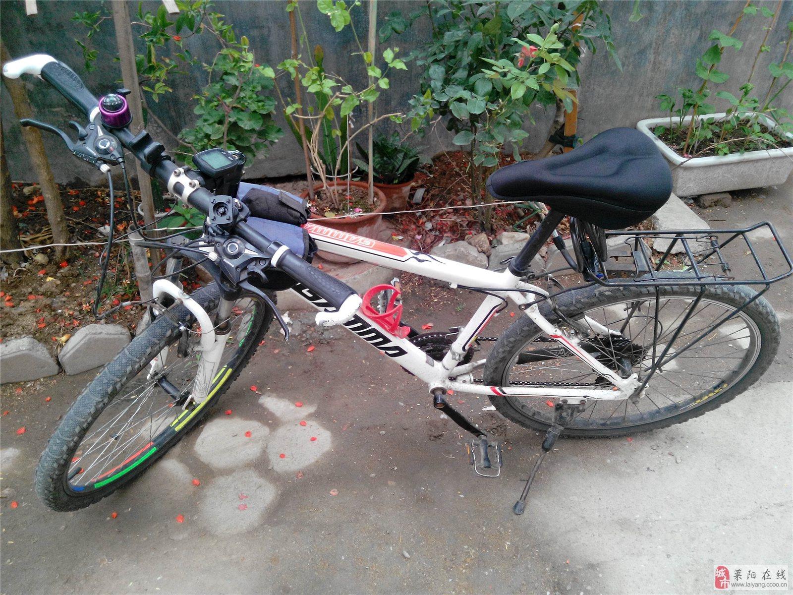 捷马21速山地自行车