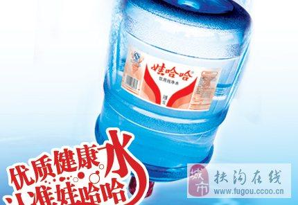 扶沟县娃哈哈桶装水 桶装矿泉水
