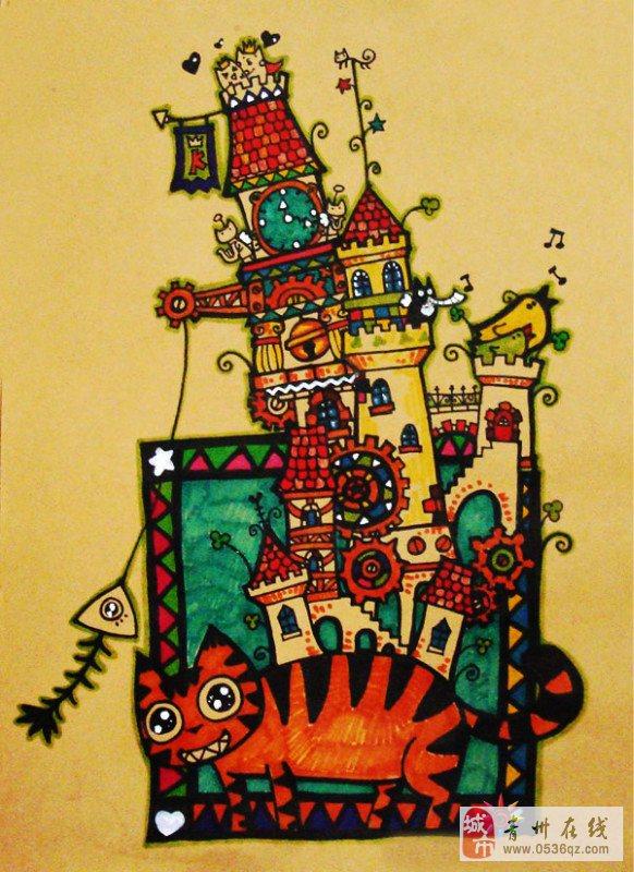 格林童画创意美术教育中心开始招生了!图片