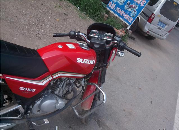 铃木gs摩托车稳压器接线图