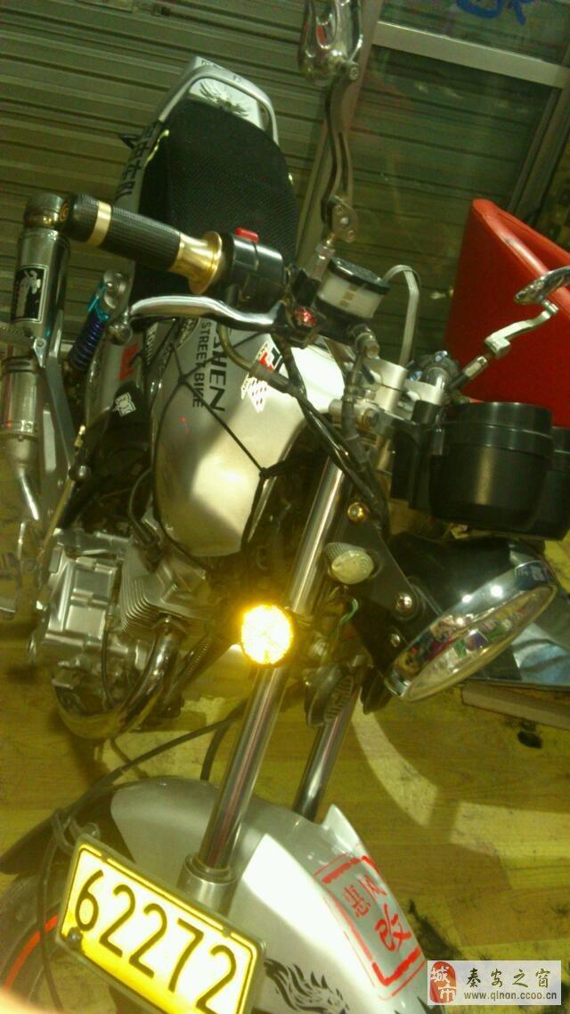 宗申150改装摩托车低价转让