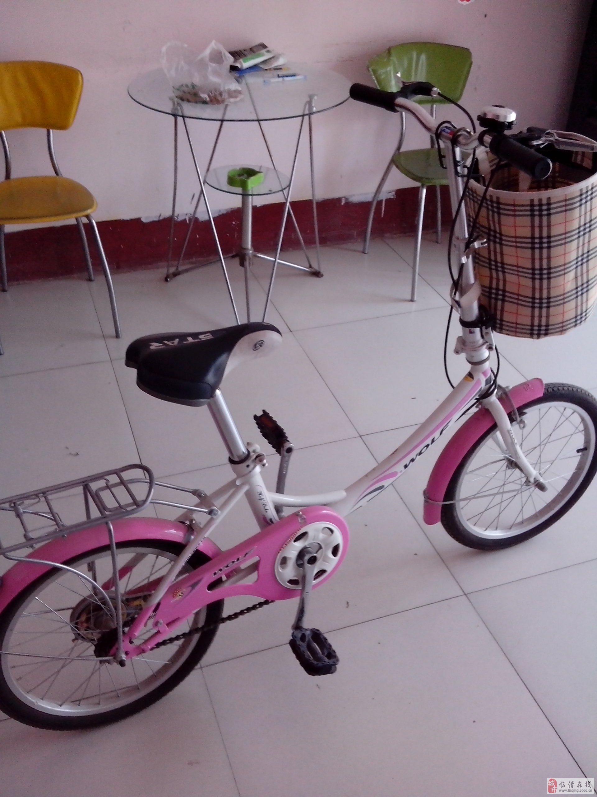 粉色22型号自行车