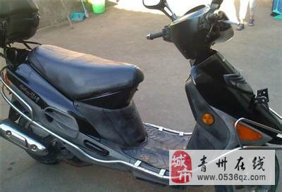 出售自用金城踏板摩托车一辆