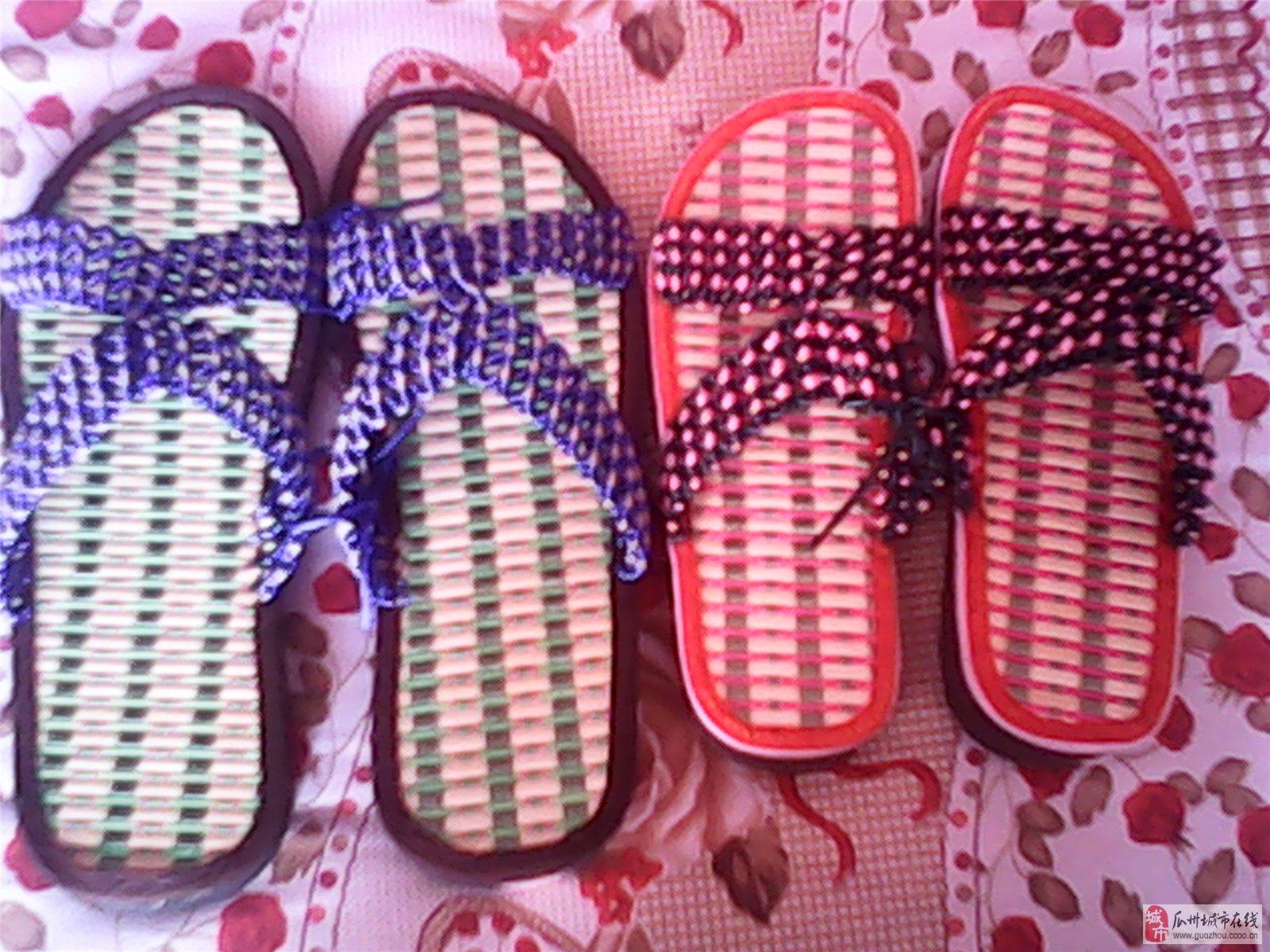手工编织拖鞋样式图