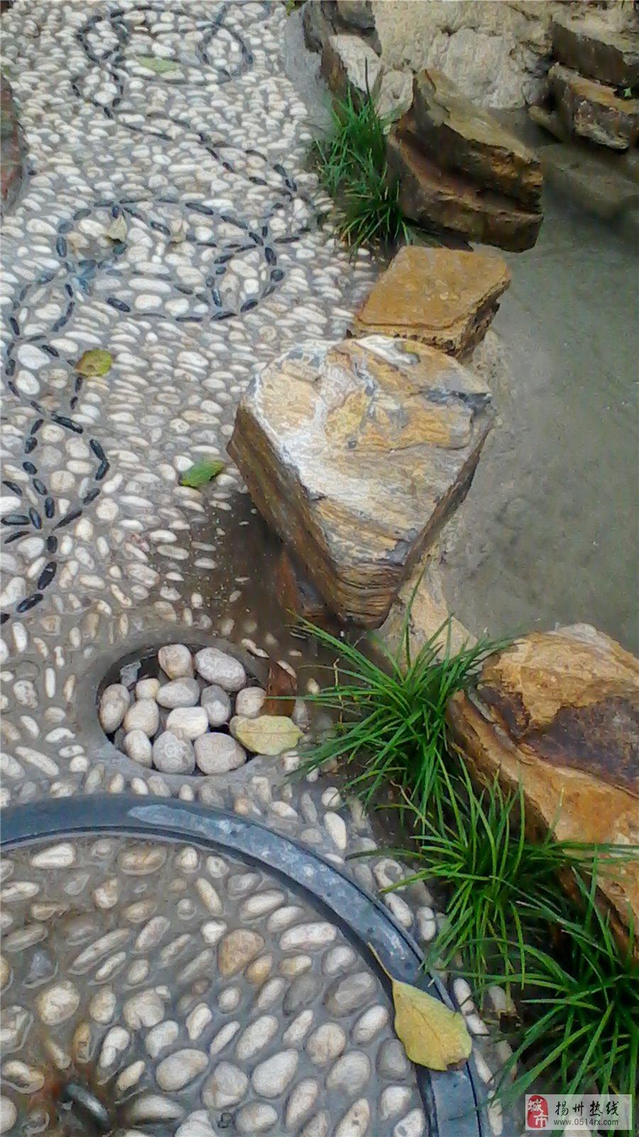 假山景观制作庭院鱼池设计私家庭院施工流水