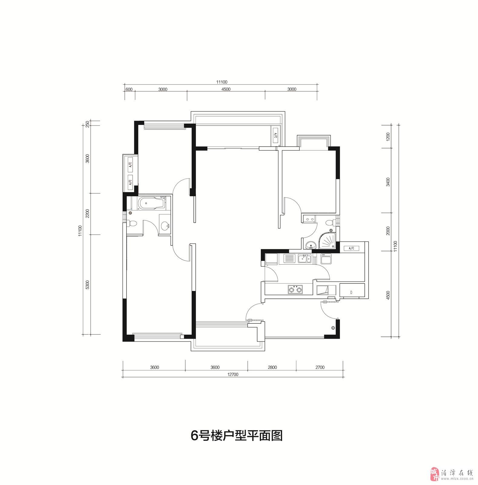 6米的铺面房子设计图展示
