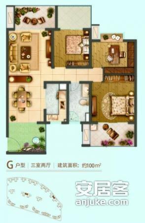 116平方米房子设计图