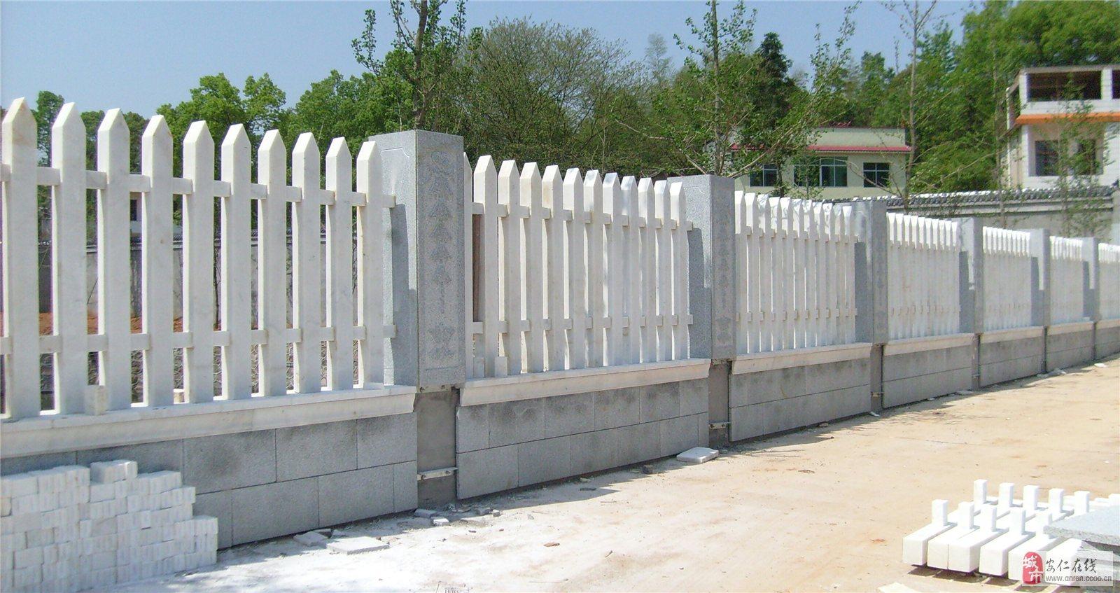 石材栏杆的设计