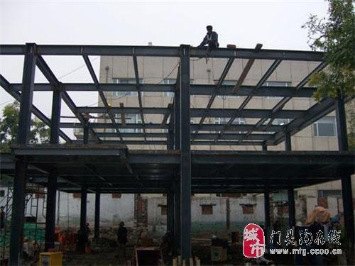 北京专业钢结构阁楼搭建二层制作
