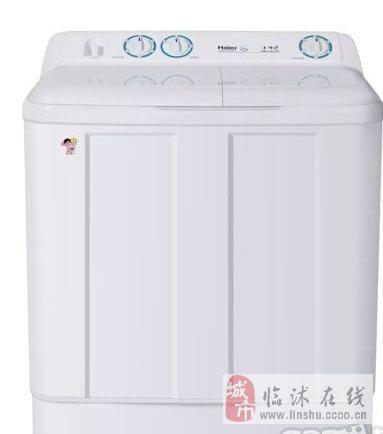 转让海尔小神螺6.5公斤半自动双缸洗衣机