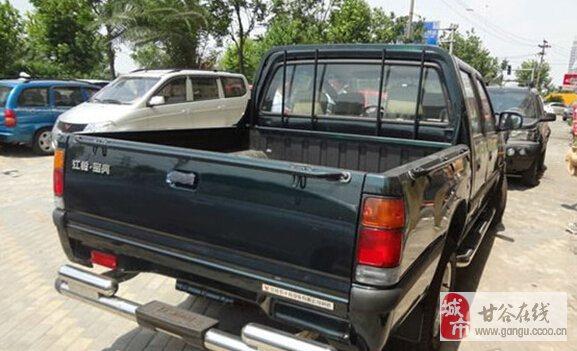九成新的江铃四驱皮卡车出售,-2.4万