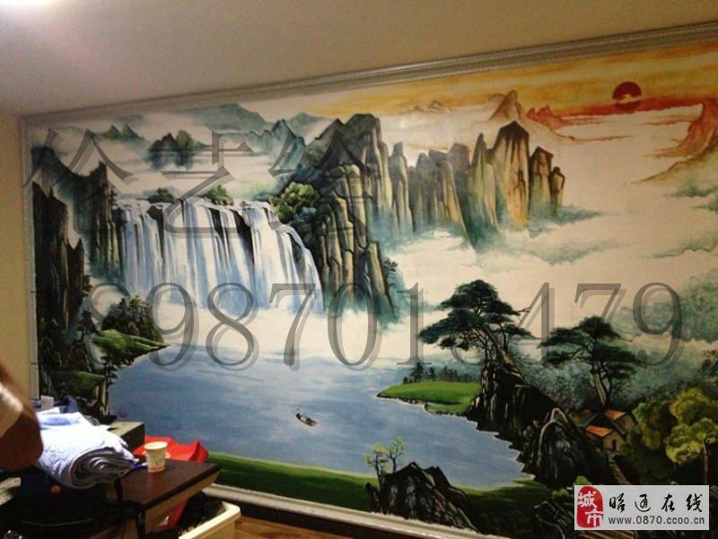 伦艺墙体手绘工作室诚接各类室内外壁画工程