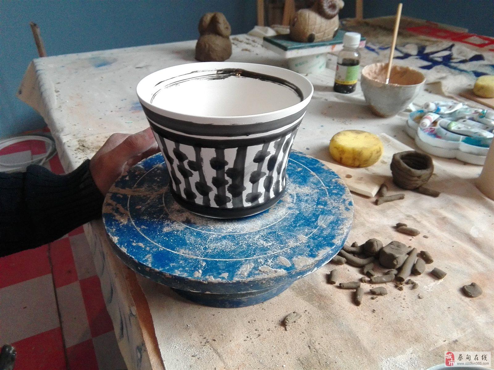 陶艺船制作步骤图