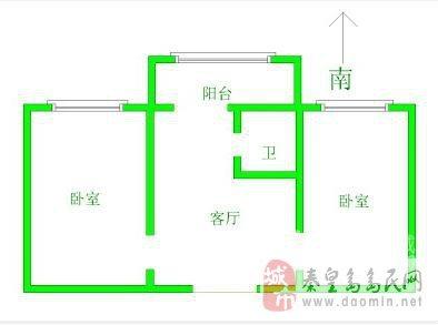 平房四房二厅设计图_平房四房二厅设计图分享展示图片