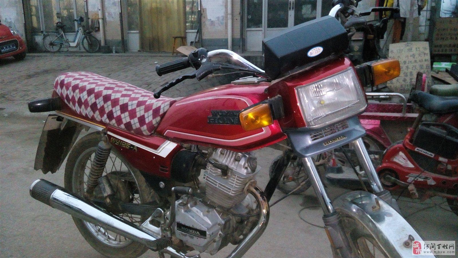 转让五羊125摩托车