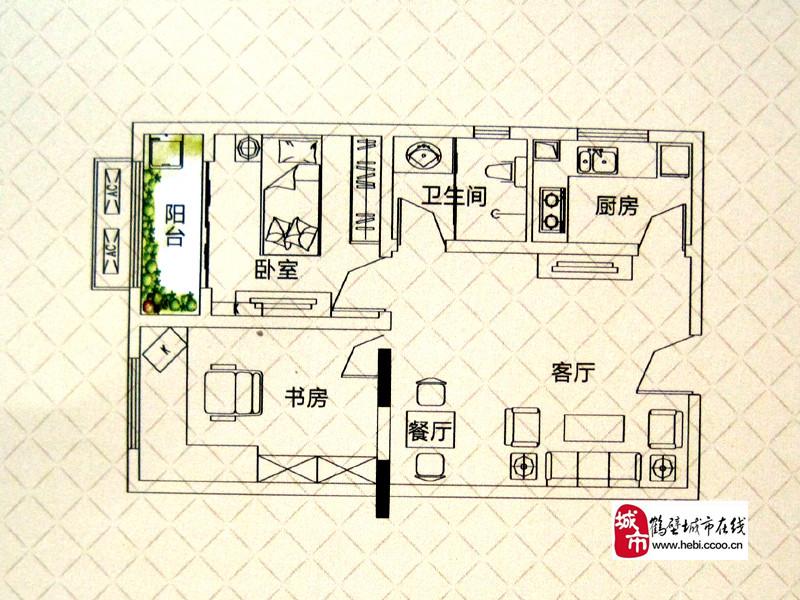 鹤壁东方世纪城户型图