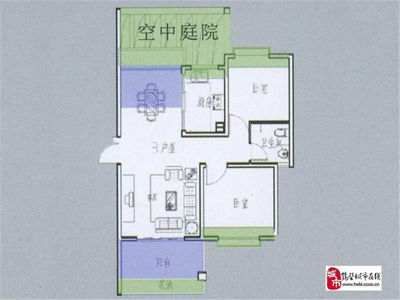 鹤壁天鹏晟景楼盘规划图 户型图 实景图 样板间-鹤壁