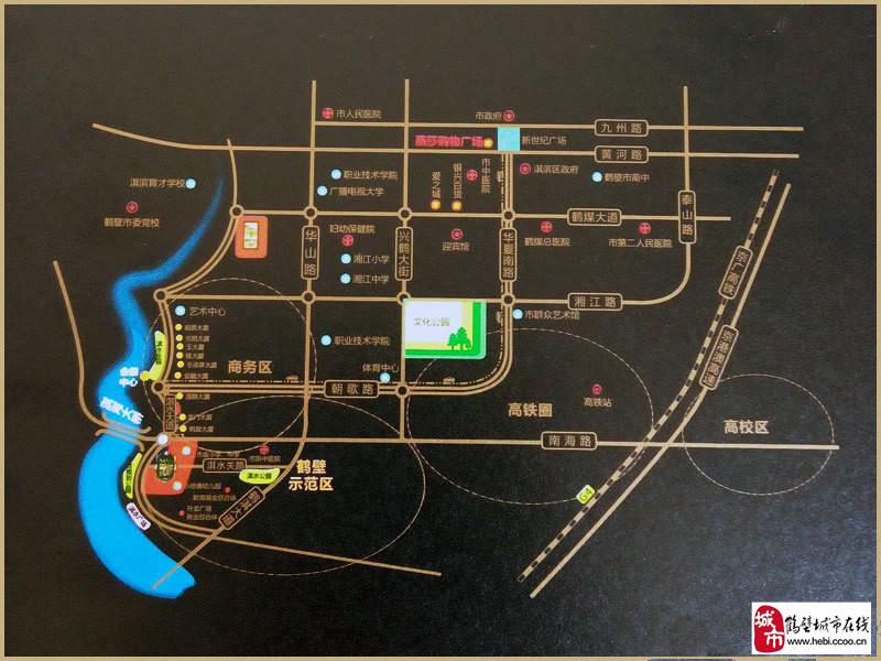 鹤壁建业壹号城邦楼盘规划图|户型图|实景图|样板间