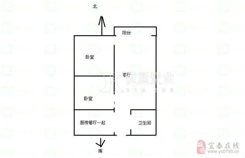 98平米房子设计图