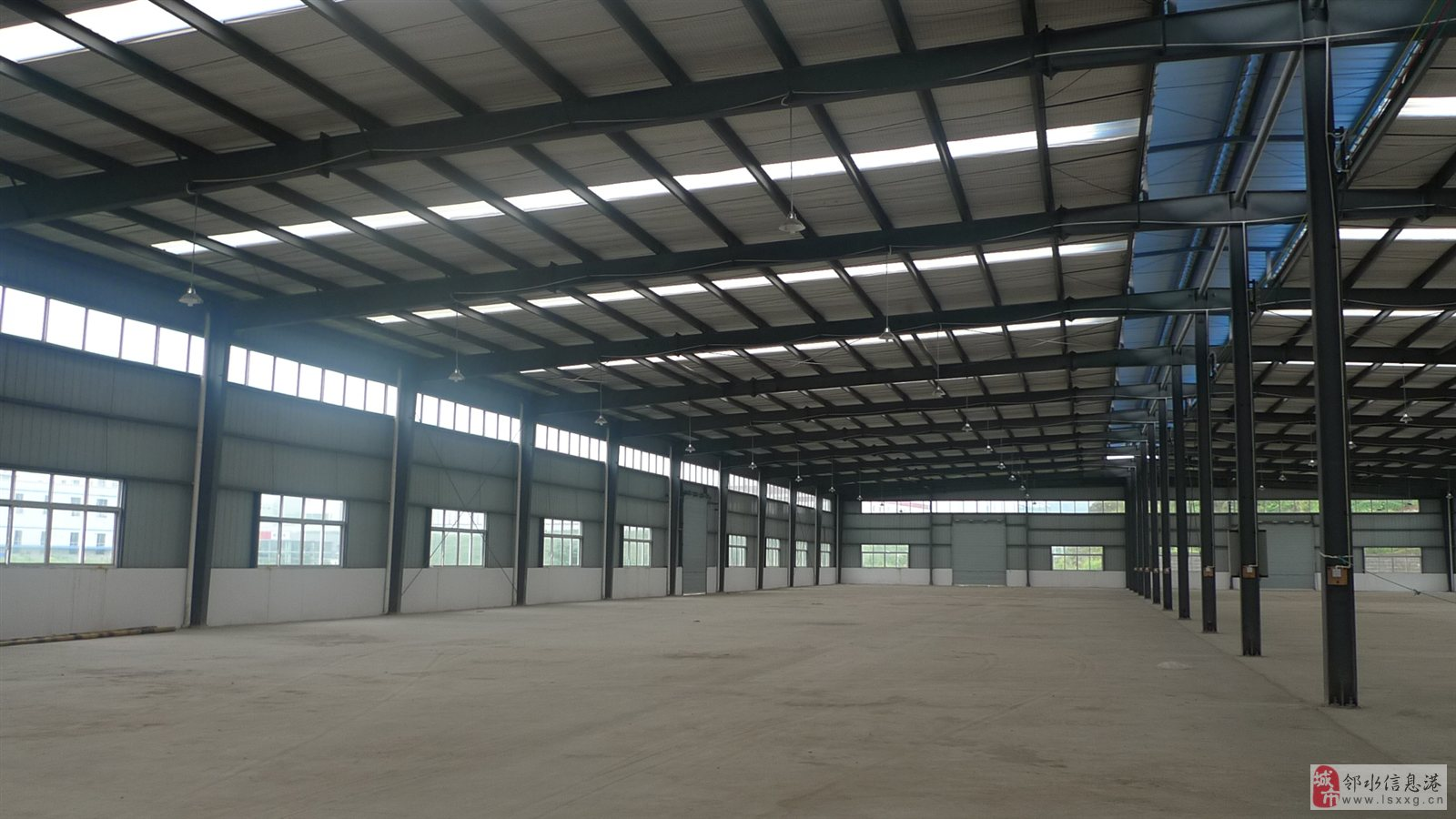 小厂房框架结构