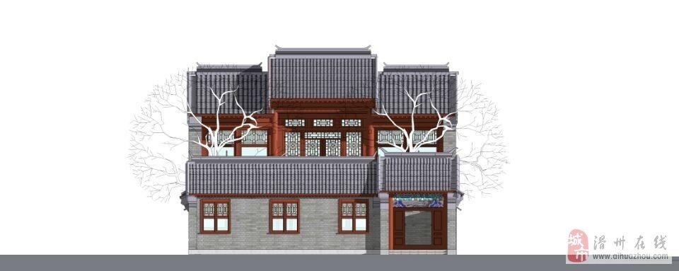 楼房两层半设计图展示