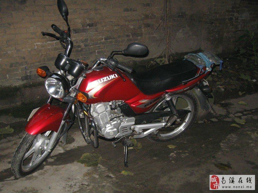 出售济南轻骑铃木摩托车qs125-5c