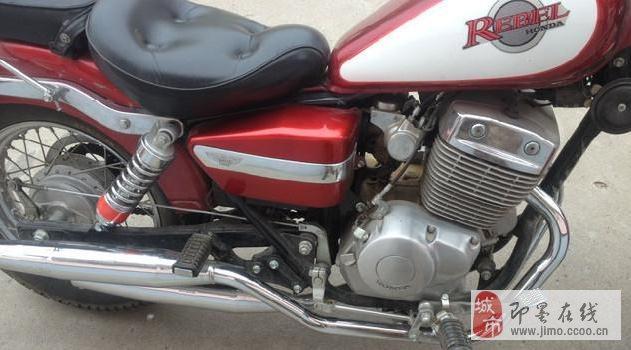 进口本田250太子摩托车