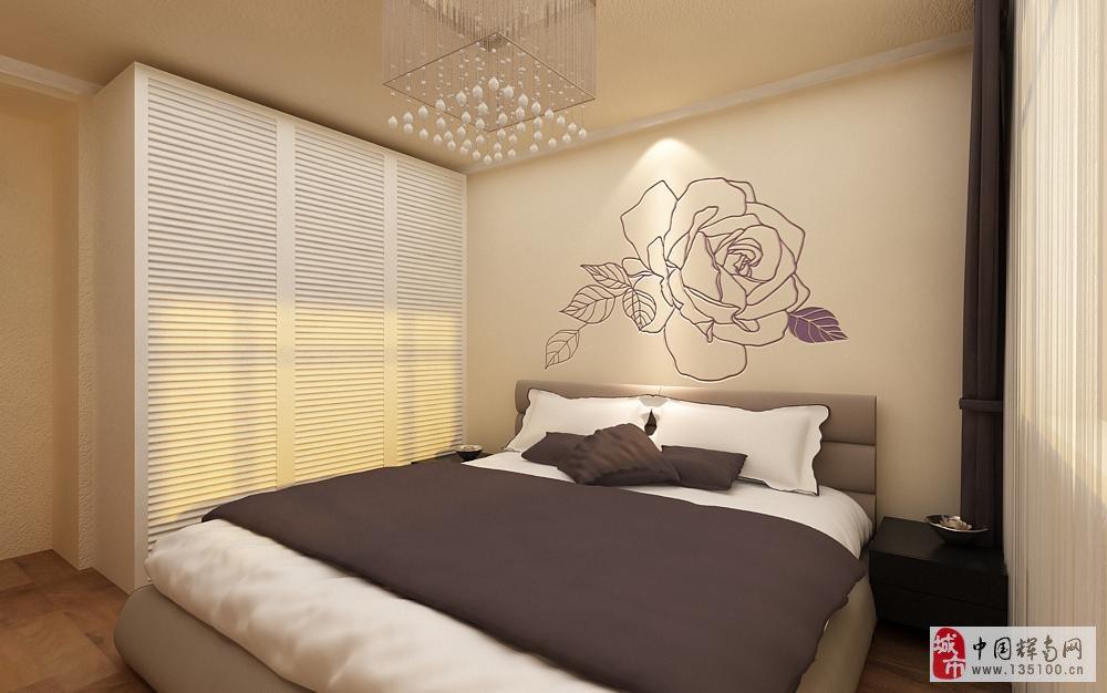 硅藻泥欧式女生卧室装修效果图