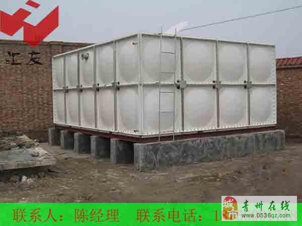 玻璃钢水箱安装施工方案玻璃钢水箱结构设计主要通过