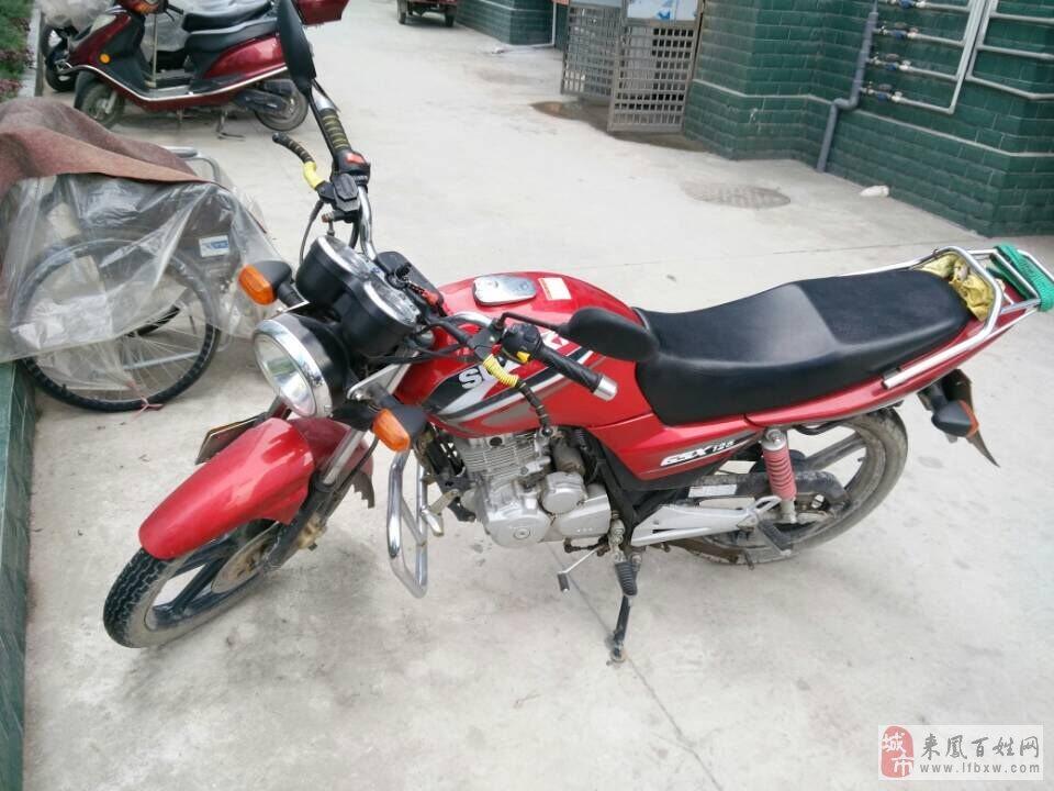 出售轻骑铃木125摩托车