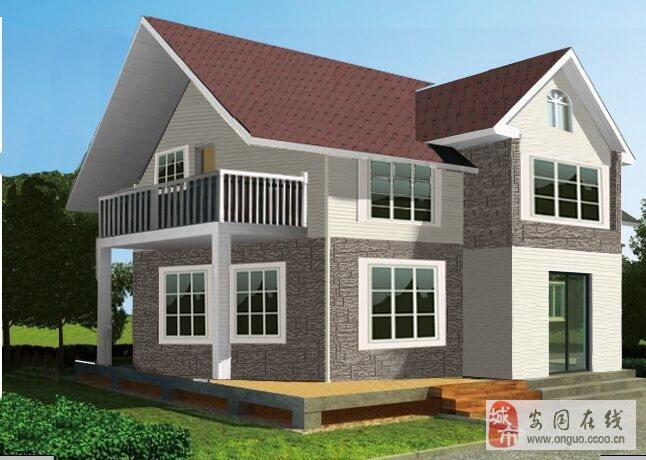 承建新型农村别墅美观