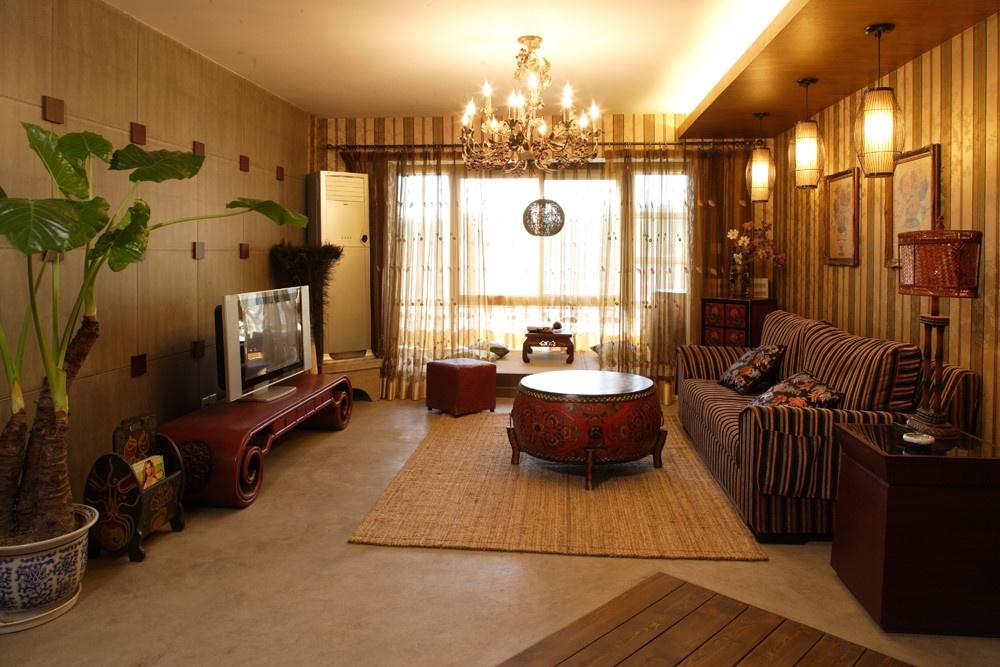 比如说,中式装修风格中,红木家具,古画,紫砂器具等元素的成本就要远远