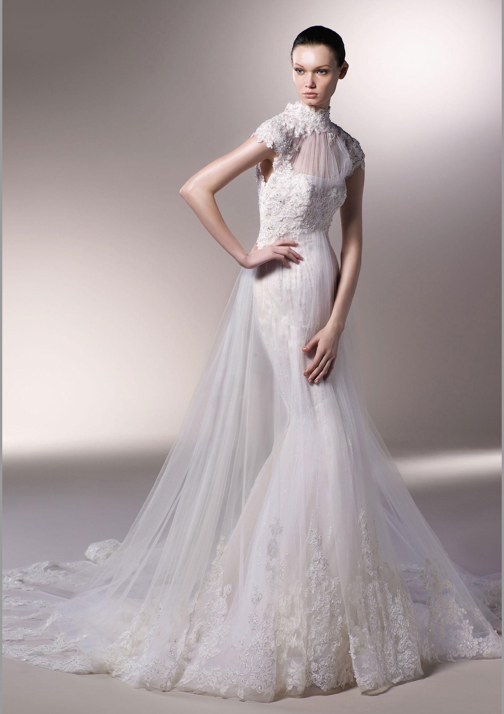 美轮美奂的鱼尾婚纱