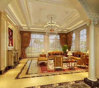 欧式家装客厅效果图