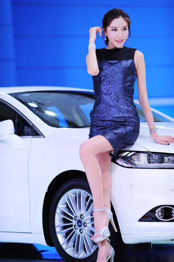 2013�V州�展美女�模�D片> 福特
