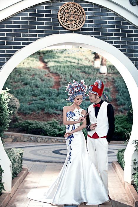 80后创意的个性婚纱照,给您留