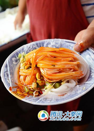 吃货达人绘制陕西美食地图
