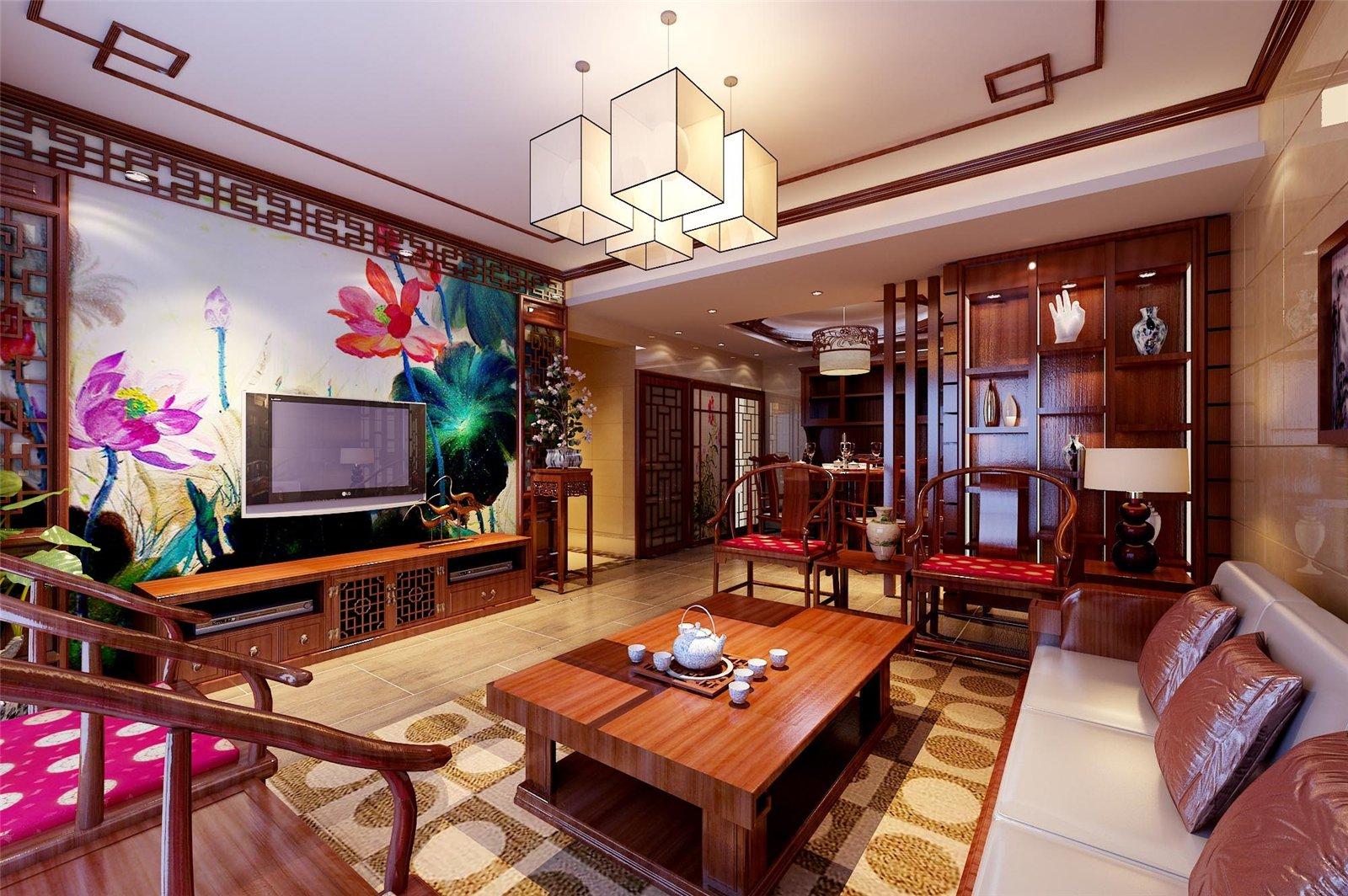 客厅电视背景墙-惠亚之窗