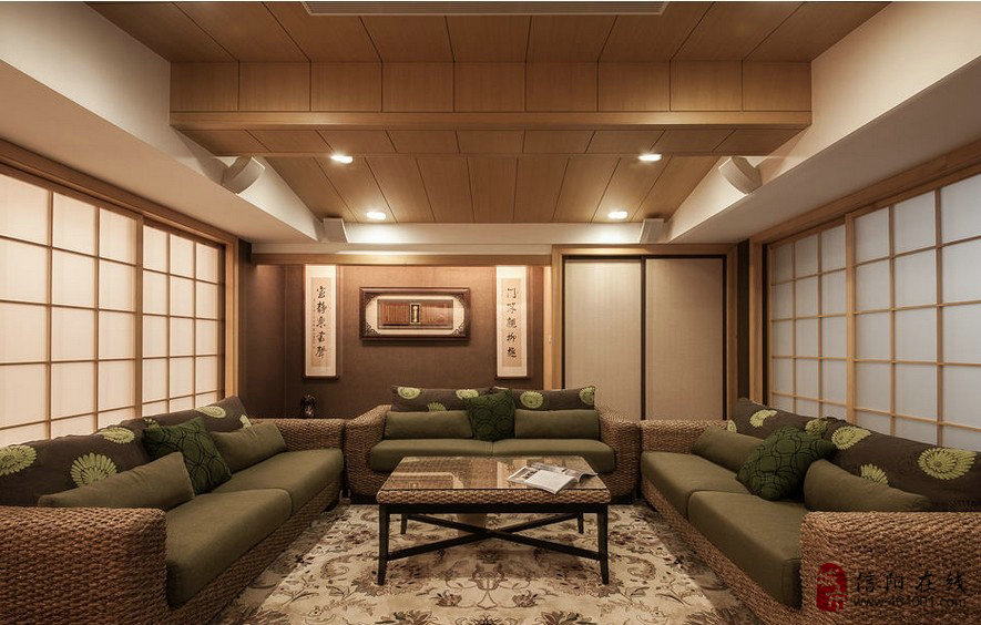 日式现代风格装修效果图