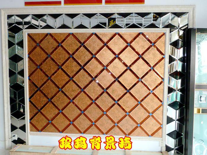 玻璃背景墙