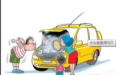 车辆检查卡通图片